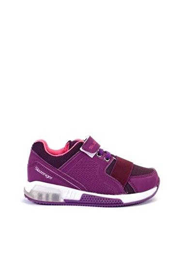 Slazenger Ela Kız Çocuk Sneaker Ayakkabı Mor